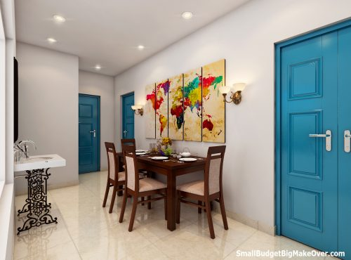 Foyer Dining Area View 01