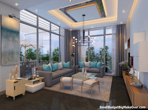 Minarch Cityply Drawing Room View