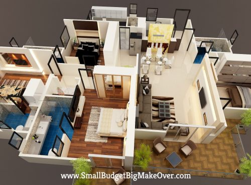 Maneesh 3D Layout View 2-min