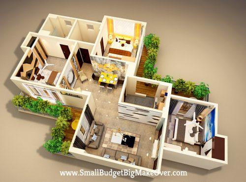 Mukul 3D Layout View 2-min
